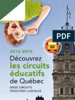 Découvrir la capitale national/ brochure on quebec city