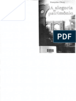 A Alegoria Do Patrimônio_ Françoise Choay_INTRODUÇÃO