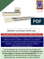 Intervención en Pedagogia