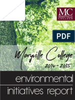 MC Environmental Initiatives Report