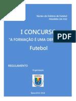Regulamento I Concurso A Formação é uma Obrigação (Versão 4).pdf