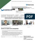 Grecia se vuelca en la autogestión