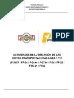 I.T de Lubricacion Transportadores