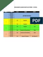 Rancangan Pengajaran Mingguan Mata Pelajaran Dsv Dan Psv