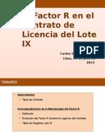 Factor r - Unipetro