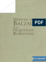 Los Pequenos Burgueses - Honore de Balzac