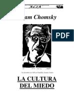NOAM CHOMSKY- La Cultura Del Miedo