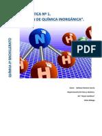 Unidad Didactica Nº 1. Formulacion de Quimica Inorganica 2015-2016
