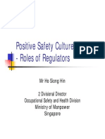 Positive Safety Culture - Singapore