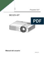 Manual Projetor LG BE325-SP