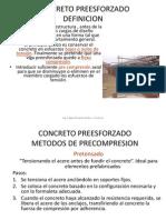 Metodos de precompresion