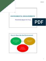 W 4 Environment Measurements