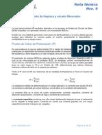 Nota Tecnica Nro. 9 - Tratamiento de Limpieza y Secado Generador