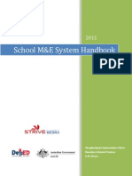 School M&E Handbook