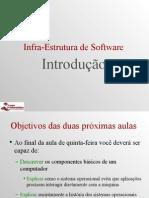 Aula de Introdução a infra estrutura de software