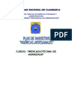 Plan de Marketing de Muñecas artesanales en la Región de Cajamarca