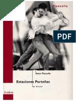 Estaciones Porteñas Piazzolla
