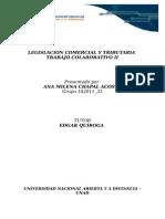 Legislacion Comercial y Tributaria