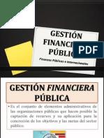 GESTIÓN FINANCIERA PÚBLICA