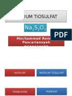 Sodium Tiosulfat