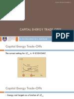Capital Cost Considerations