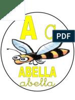 abecedari cercle