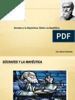 Sócrates y La Mayéutica. Platón La República