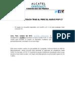 1008 - Alcatel Onetouch trae al perú el nuevo POP C7