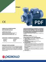 Catalogo Bomba Pedrollo - Modelo HFm 5A