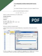 Introducción a Las Probabilidades Empleando Excel