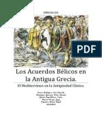 Los Acuerdos Bélicos en La Antigua Grecia