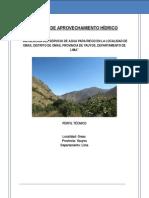 Hidrologia Patara