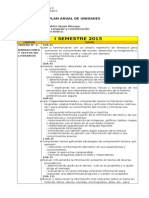 Plan Anual de Unidades Lenguaje Tabita 5