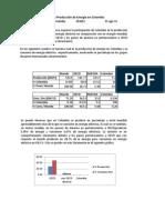 Producción y Consumo de energía en Colombia