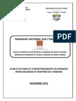 5MMPE SNE2012 Rapport Com4 Energies Renouvelables