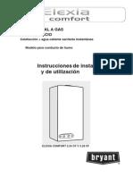 Manual Caldera Chaffoteaux M. ELEXIA CONFORT