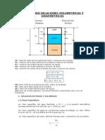 Formulario Relaciones Volumetricas y Gravimétricas