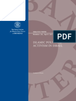 Islamic Political Activism in Israel