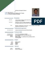 CV Bchiri Achraf