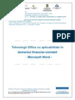 Tehnologia Aplicatiilor Office - Word