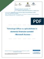 Tehnologia Aplicatiilor Office - Access