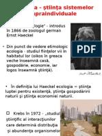 Ecologie Curs 1