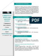 Cv. Christian Aquino