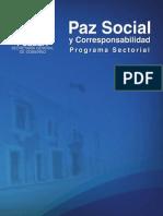 Paz Social y Corresponsabilidad