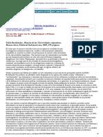 Historia de Las Universidades Argentinas - Buchbinder