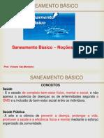 Saneamento Basico - Cap.1 - Conceitos