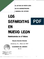 Cuaderno 11. Los Sefarditas en Nuevo León