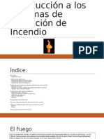 Introducción a Los Sistemas de Detección de Incendio