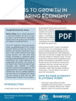 """Barriers to Growth in the """"Sharing Economy"""""""