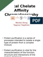 Metal-chelate Affinity Chro